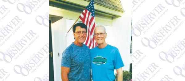 Father, Son Compete 2016 County Senior Games