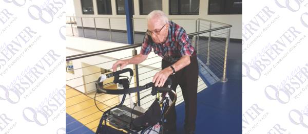 Ninety-Nine-Year-Old Ledbetter Says Walking Everyday Is Key