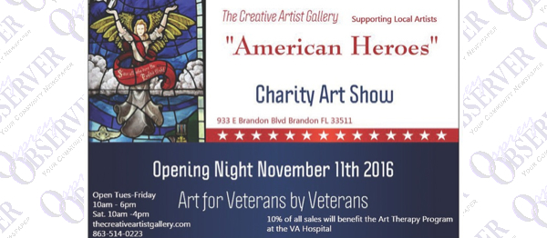 The Creative Artist Gallery Helps American Heroes Paint A New Picture