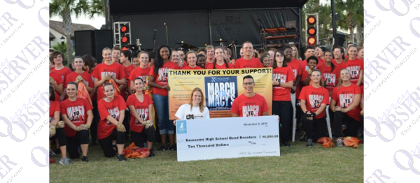 Newland Donates To Newsome Band March To Macy's Thanksgiving Day Parade