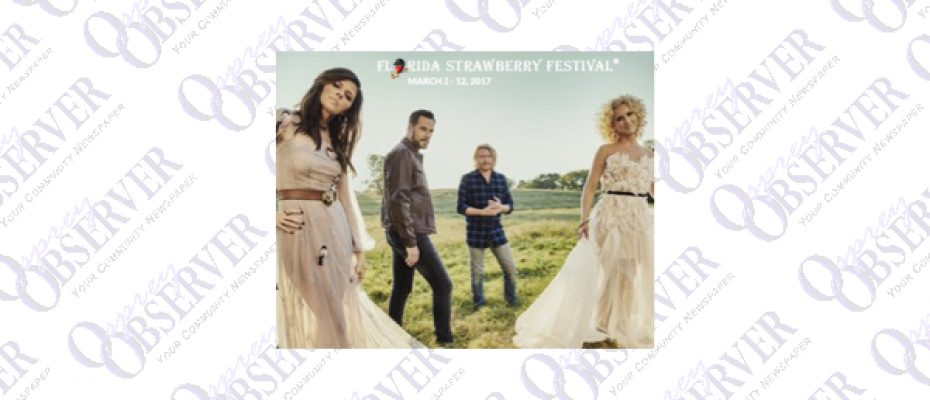 2017 Headline Entertainment Lineup of the Florida Strawberry Festival