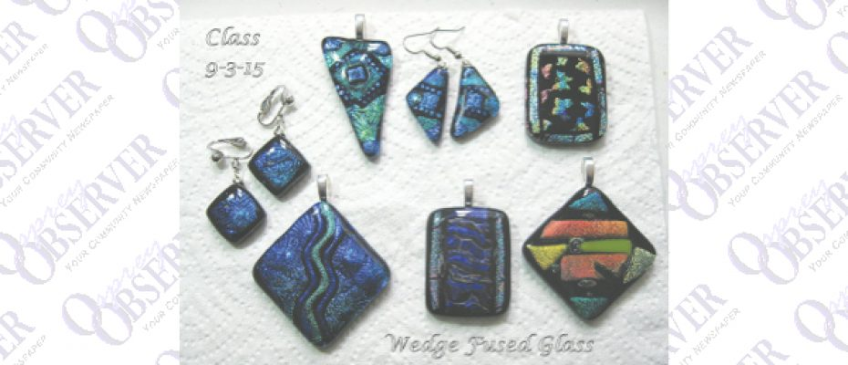 Fused Glass Jewelry Created By Talented Seffner Resident