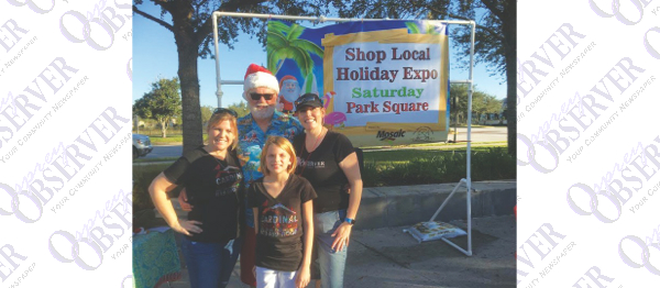 Shop Local And Visit Florida Santa At Valrico/FishHawk Holiday Expo