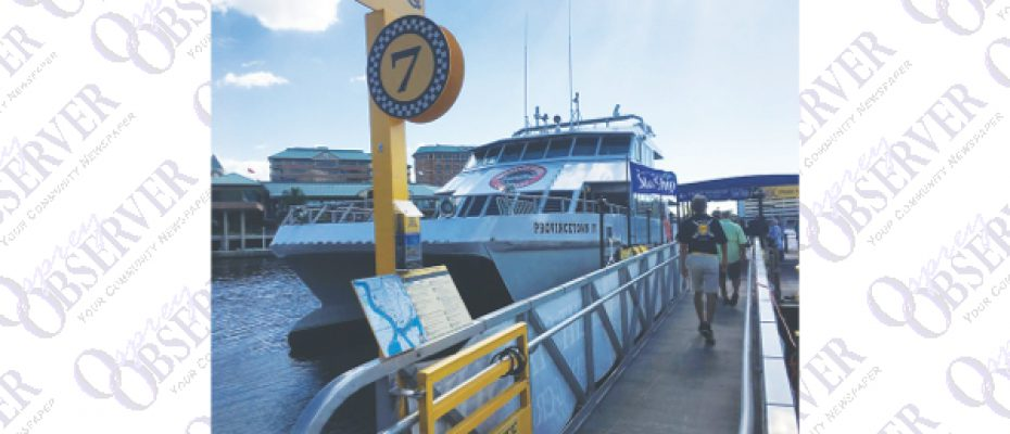 Cross-Bay Ferry Kicks Off Six-Month Program To Test The Waters