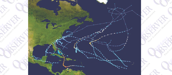 Official 2016 Hurricane Season Leaves 14 Named Storms In Its Wake