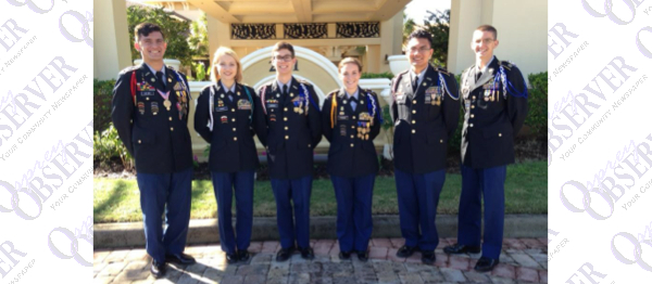 Newsome JROTC Wolfpack Battalion Hones Skills And Competes