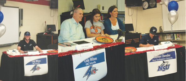 Bloomingdale Athletes Commit On Signing Day With Their Future Schools