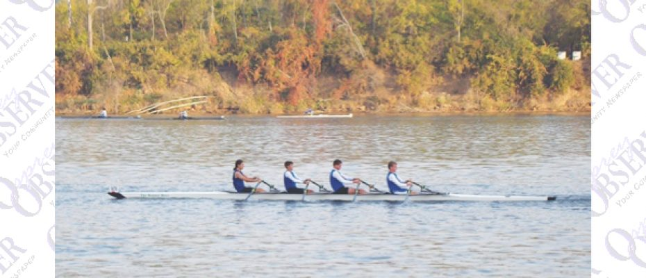 Local Students Compete In The  Head Of The Hooch Regatta