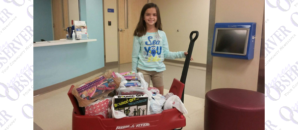 Student Helps Fill Gift Closet At Kid's Hospital