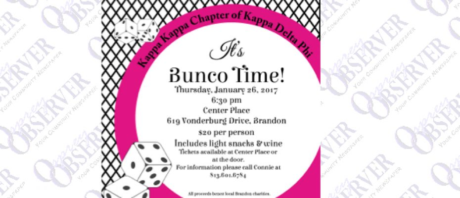 Kappa Delta Phi hosts Bunco for Kids Event At Center Place