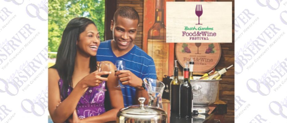 Great Food, Wine And Music Await You At Busch Gardens Food & Wine Festival