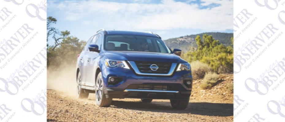 Motoring Tampa Bay: Nissan Revamps Pathfinder For 2017