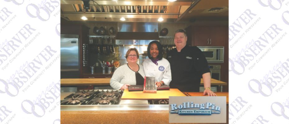 Rolling Pin Kitchen Emporium Awards Its First Scholarship To HCC College Student