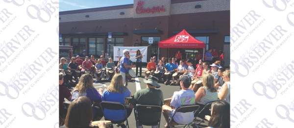 Over 100 Camp Out For Free Meals To Welcome Bloomingdale Chick-fil-A