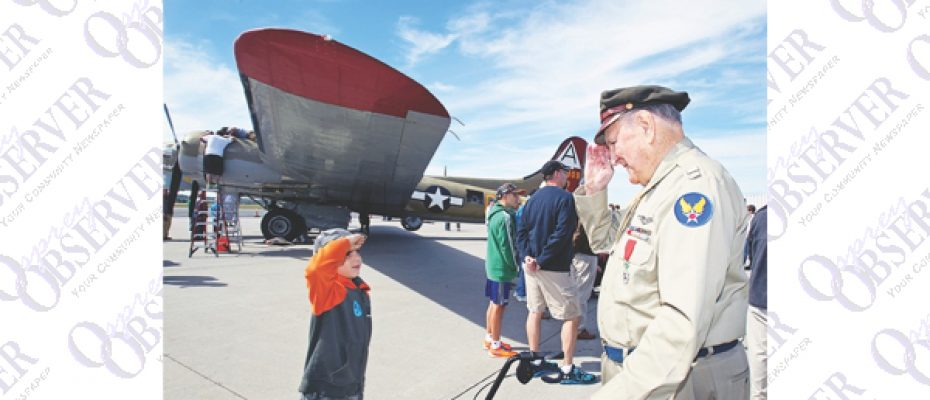National Wings Of Freedom Tour Lands In Tampa To Honor Of WWII Veterans