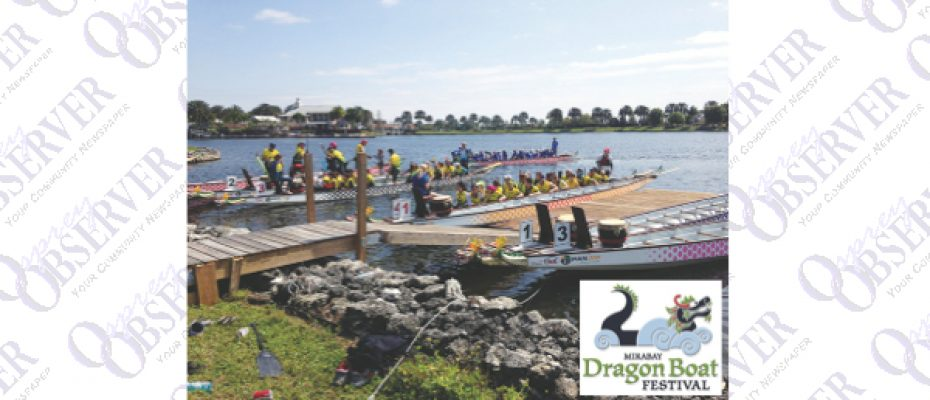MiraBay To Host Sixth Annual Dragon Boat Races