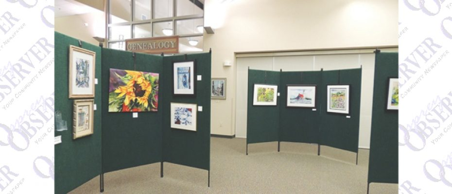 Artwork Of Two Wonderfully Talented Artists On Display At SouthShore Regional Library