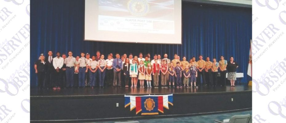 Riverview High Student Wins American Legion Oratorical Contest And Moves To Districts