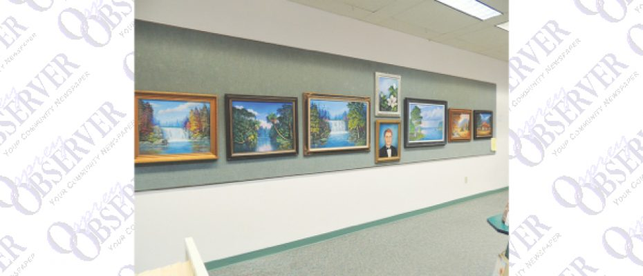 Lurline Tanner Exhibits Several Large Scale Paintings At Bruton Memorial Library