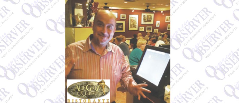 Allegria Italiana Offers Authentic Family Recipes In Welcoming Location