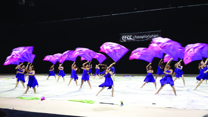 newsome winter guard wins top honor at state championships. Black Bedroom Furniture Sets. Home Design Ideas