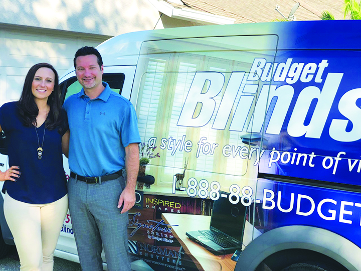 New Owners Of Budget Blinds Offering Exceptional Service