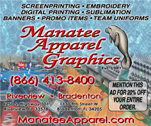 Leaderboard – Manatee Apparel Graphics 2/1/2020
