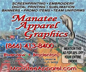 Leaderboard – Manatee Apparel Graphics 2/1/2020