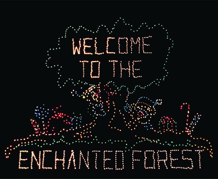 County Fairgrounds Hosts Drive Thru Wonderland Of Lights