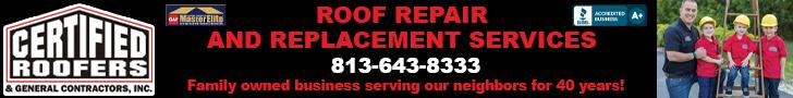 Leaderboard – Certified Roofers 11/2020